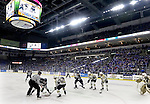 SIOUX FALLS, SD - MAY 15:  A full house at the Denny Sanford Premier Center for game three Friday night for the Sioux Falls Stampede against the Muskegon Lumberjacks.  (Photo by Dave Eggen/Inertia)