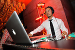 Actor Efren Ramirez, performs as a DJ at Dos Caminos, for their Cindo De Mayo celebration, Las Vegas, NV, May 5, 2010 © Al Powers / RETNA ltd