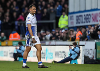 Bristol Rovers' hat-tyrick goal scorer Jonson Clarke-Harris is substituted late in the game<br /> <br /> Photographer Andrew Kearns/CameraSport<br /> <br /> The EFL Sky Bet League Two - Bristol Rovers v Blackpool - Saturday 2nd March 2019 - Memorial Stadium - Bristol<br /> <br /> World Copyright © 2019 CameraSport. All rights reserved. 43 Linden Ave. Countesthorpe. Leicester. England. LE8 5PG - Tel: +44 (0) 116 277 4147 - admin@camerasport.com - www.camerasport.com