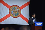 MIAMI, FL - APRIL 19: Chair of Miami-Dade DEC Juan Cuba during an event that featured DNC Chair Tom Perez and Sen. Bernie Sanders (I-VT) during their 'Come Together and Fight Back' tour at the James L Knight Center on April 19, 2017 in Miami, Florida. Mr. Perez and Sen. Bernie Sanders (I-VT) spoke on topics  about raising the minimum wage, pay equity for women, making public colleges and universities tuition-free, comprehensive immigration reform and tax reform which demands that the wealthy and large corporations start paying their fair share of taxes.  ( Photo by Johnny Louis / jlnphotography.com )