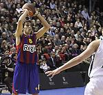 Euroleague el FC Barcelona guanya 83 -82 al Panathinaikos en el primer partit del playoff. Victor Sada