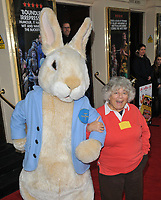"Miriam Margolyes at the ""Where Is Peter Rabbit?"" musical press night, Theatre Royal Haymarket, Suffolk Street, London, England, UK, on Tuesday 09th April 2019.<br /> CAP/CAN<br /> ©CAN/Capital Pictures"