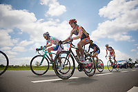 Wout Van Aert (BEL/Vastgoedservice-Golden Palace) in the breakaway group<br /> <br /> Ster ZLM Tour 2014<br /> stage 4: Hotel Verviers - La Gileppe (187km)