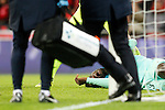 FC Barcelona's Samuel Umtiti injured during Spanish Kings Cup match. January 05,2017. (ALTERPHOTOS/Acero)