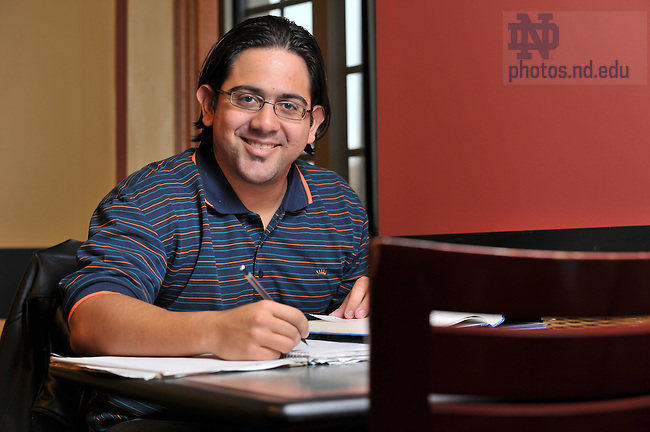 Yamil Colon for Notre Dame Magazine..Photo by Matt Cashore/University of Notre Dame