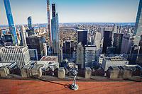 NOVA YORK, EUA, 19.11.2019 - TURISMO-EUA -  Vista do Top Of The Rock no Rockefeller em Nova York nos Estados Unidos. (Foto: Vanessa Carvalho/Brazil Photo Press/Folhapress)