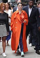 NEW YORK, NY - JUNE 19: Dua Lipa at Good Morning America on June 19, 2017 in New York City. Credit: RW/MediaPunch