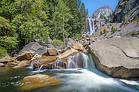 Vernal Falls in Summer