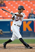 Florimon, Pedro 1536.jpg. Carolina League Myrtle Beach Pelicans at the Frederick Keys at Harry Grove Stadium on May 13th 2009 in Frederick, Maryland. Photo by Andrew Woolley.