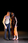 LA FELURE DU PAPILLON....Choregraphie : Serge Ambert..Compagnie :  les alentours rêveurs..Decor : ..Lumiere : ..Costumes : ..Avec : Betka Májová et Serge Ambert..Lieu : Theatre du Lierre..Ville : Paris..Le : 02 12 2009..© Laurent PAILLIER / photosdedanse.com..All rights reserved