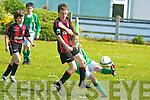 Kingdom Boys Cian Twohig and St Brendan's Park's Jessie Stafford-Lacey.