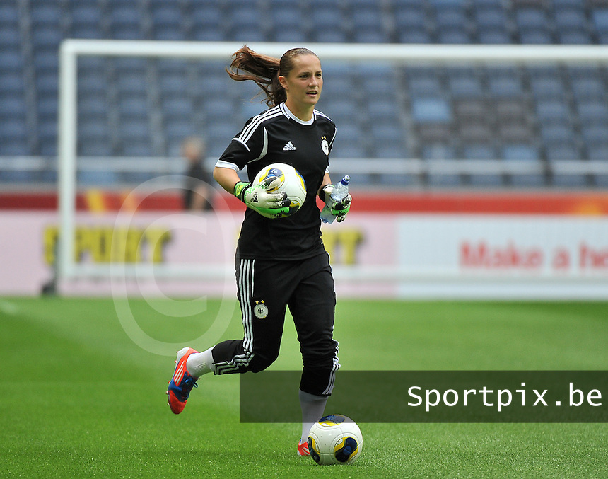 Friends Arena Solna - Stockholm ; training session Germany<br /> Laura Benkarth<br /> foto DAVID CATRY / Nikonpro.be