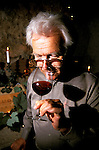 California: Sonoma Region.  Winemaker Walter Schug..Photo copyright Lee Foster, 510/549-2202, lee@fostertravel.com, www.fostertravel.com..Photo #: casono103