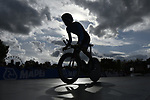 Jacob Rubuliak of Canada in action during the Men Junior Individual Time Trial of the UCI World Championships 2019 running 27.6km from Harrogate to Harrogate, England. 23rd September 2019.<br /> Picture: Allan McKenzie/SWPix.com | Cyclefile<br /> <br /> All photos usage must carry mandatory copyright credit (© Cyclefile | Allan McKenzie/SWPix.com)