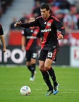 FUSSBALL   1. BUNDESLIGA   SAISON 2011/2012    10. SPIELTAG Bayer 04 Leverkusen - FC Schalke 04                        23.10.2011 Michael BALLACK (Bayer 04 Leverkusen) Einzelaktion am Ball
