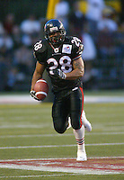Darren Davis Ottawa Renegades 2003. Photo Scott Grant