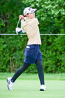 Sakura Yokomine (JPN) watches her tee shot on 11 during Thursday's round 1 of the 2017 KPMG Women's PGA Championship, at Olympia Fields Country Club, Olympia Fields, Illinois. 6/29/2017.<br /> Picture: Golffile | Ken Murray<br /> <br /> <br /> All photo usage must carry mandatory copyright credit (&copy; Golffile | Ken Murray)