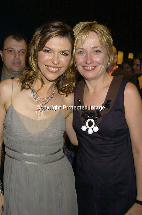 """Finola Hughes and Kate White ..at the Book Party for Finola Hughes' Book """"Soapsuds"""" ..at The Montblanc Global Flagship Store on June 14, 2005. ..Photo by Robin Platzer, Twin Images"""