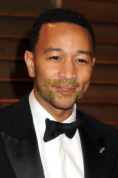 02 March 2014 - West Hollywood, California - John Legend. 2014 Vanity Fair Oscar Party following the 86th Academy Awards held at Sunset Plaza.  <br /> CAP/ADM/BP<br /> &copy;Byron Purvis/AdMedia/Capital Pictures
