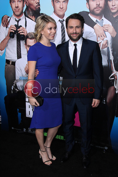 """Mary Elizabeth Ellis, Charlie Day<br /> at the """"Horrible Bosses 2"""" Los Angeles Premiere, TCL Chinese Theater, Hollywood, CA 11-20-14<br /> David Edwards/DailyCeleb.com 818-249-4998"""