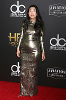 LOS ANGELES - NOV 4:  Awkwafina at the Hollywood Film Awards 2018 at the Beverly Hilton Hotel on November 4, 2018 in Beverly Hills, CA