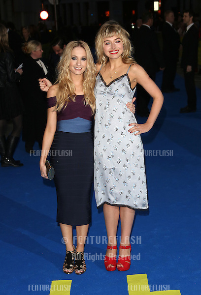 Joanne Froggatt and Imogen Poots arriving for the UK premiere of Filth held at the Odeon - Arrivals<br /> London. 30/09/2013 Picture by: Henry Harris / Featureflash