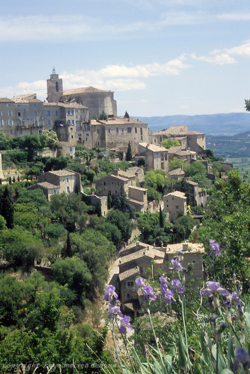 Gordes of the Provence region of France
