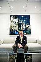C. Richard Kramlich pictures: Executive portrait photography of Dick Kramlich by San Francisco corporate photographer Eric Millette