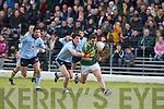 Kerry's Declan O'Sullivan and Dublin's Rory O'Carroll..
