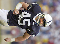 30 September 2006:  Penn State LB Sean Lee (45)..The Penn State Nittany Lions defeated the Northwestern Wildcats 33-7 September 30, 2006 at Beaver Stadium in State College, PA..