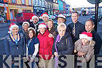 Kenmare Traders getting ready for the Christmas season from left: Page Ward, Denise O'Sullivan, Bridget O'Sullivan, Paul Bevan, John O'Sullivan, Elaine Treyvaud, Michelle Donovan, Alain Bras, Eileen O'Riordan, Sean Hussey, John Daly, and Yvonne Daly.