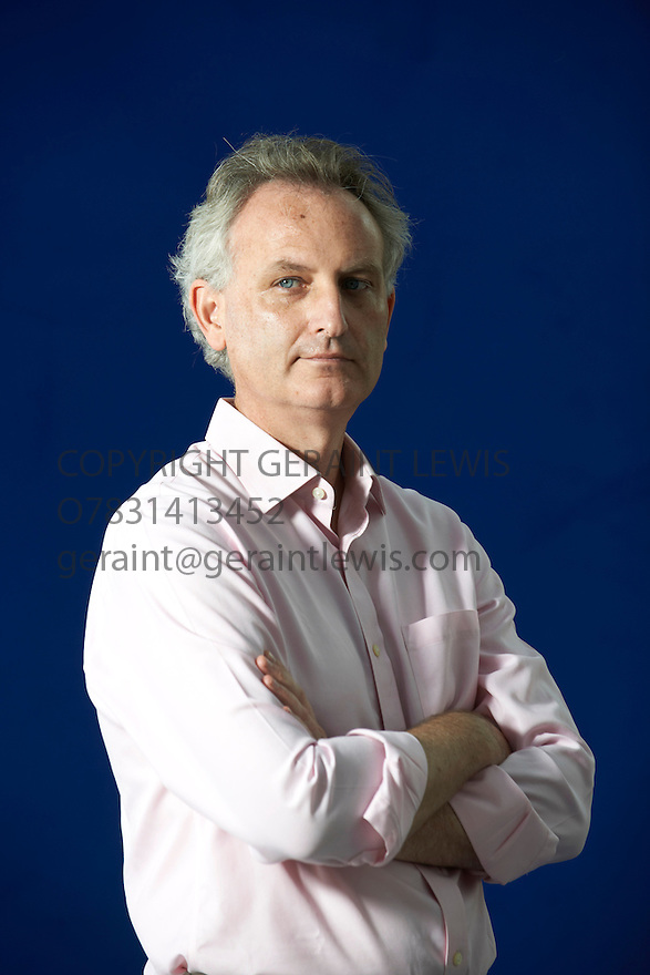 James Geary, writer of I is an Other at The Edinburgh International Book Festival   . Credit Geraint Lewis