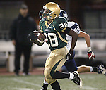 Jesuit senior running back Anthony Blake races upfield to the end-zone scoring a touchdown against Jesuit in the semifinals at PGE Park November 28, 2008.