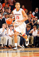 Virginia guard Malcolm Brogdon (15) during the game Saturday, February 22, 2014,  in Charlottesville, VA. Virginia won 70-49.