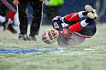 3 January 2010: Buffalo Bills' cornerback Cary Harris intercepts a pass by the Indianapolis Colts on a cold, snowy, final game of the season at Ralph Wilson Stadium in Orchard Park, New York. The Bills defeated the Colts 30-7. Mandatory Credit: Ed Wolfstein Photo