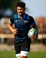 Ardie Savea of the Hurricanes during the Hurricanes training session at  Northwood High School Durban North in Durban, South Africa on Tuesday, 28 May 2019. Photo: Steve Haag / stevehaagsports.com