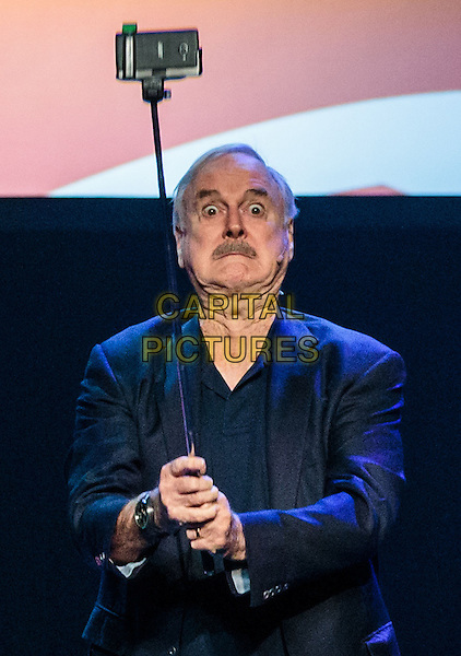 LAS VEGAS, NV - November 18, 2016: ***HOUSE COVERAGE*** Eric idle and John Cleese pictured as  John Cleese &amp; Eric Idle: Together Again At Last&hellip;For The Very First Time at The Venetian Theater at The Venetian Las Vegas in Las Vegas, NV on November 18, 2016. <br /> CAP/MPI/EKP<br /> &copy;EKP/MPI/Capital Pictures