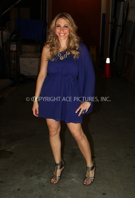 WWW.ACEPIXS.COM . . . . . ....April 30 2012, New York City....American Idol cast off Elise Testone made an appearance at the Kelly show on April 30 2012 in New York City....Please byline: Zelig Shaul - ACE PICTURES.... *** ***..Ace Pictures, Inc:  ..Philip Vaughan (212) 243-8787 or (646) 769 0430..e-mail: info@acepixs.com..web: http://www.acepixs.com