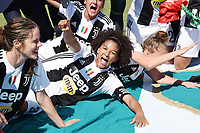 Sata Gama.  Celebration at the end of the match <br /> Verona 20-4-2019 Stadio AGSM Olivieri <br /> Football Women Serie A Hellas Verona - Juventus <br /> Juventus win italian championship <br /> Photo Daniele Buffa / Image Sport / Insidefoto