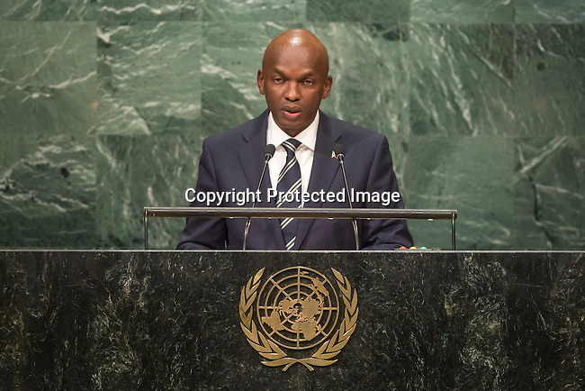 Burundi<br /> H.E. Mr. Alain Aim&eacute; Nyamitwe<br /> Minister of External Affairs<br /> <br /> General Assembly Seventy-first session 20th plenary meeting<br /> <br /> General Debate