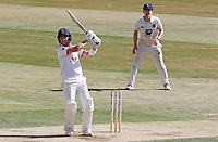 Sam Cook of Essex hits four runs during Essex CCC vs Kent CCC, Bob Willis Trophy Cricket at The Cloudfm County Ground on 4th August 2020