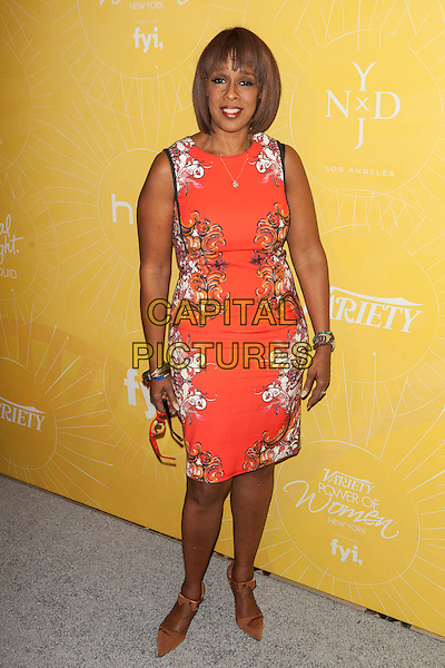 NEW YORK, NY -  APRIL 25:   Gayle King attends Variety Power Of Women: New York presented by FYI at Cipriani 42nd Street on April 25, 2014 in New York City.  <br /> CAP/MPI/COR99<br /> &copy;COR99/MPI/Capital Pictures