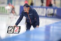 SPEEDSKATING: 09-12-2018, Tomaszów Mazowiecki (POL), ISU World Cup Arena Lodowa, Henk Hospes (coach NED), ©photo Martin de Jong
