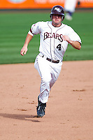 Brent Seifert (4) of the Missouri State Bears during a game vs. the Western Illinois Leathernecks at Hammons Field in Springfield, Missouri;  March 20, 2011.  Photo By David Welker/Four Seam Images