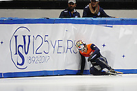 SHORT TRACK: TORINO: 14-01-2017, Palavela, ISU European Short Track Speed Skating Championships, Daan Breeuwsma (NED), ©photo Martin de Jong