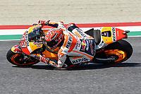 SCARPERIA,FLORENCE, ITALY - JUNE 03:,2017 Marc Marquez of Spain and Repsol Honda Team in action during Qualifying MotoGP Gran Premio d'Italia- at Mugello Circuit. on june 03, 2017 in Scarperia Italy.<br /> Photo Marco Iorio/Insidefoto