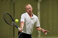 March 5, 2015, Netherlands, Hilversum, Tulip Tennis Center, NOVK, Martin Koek (NED)<br /> Photo: Tennisimages/Henk Koster