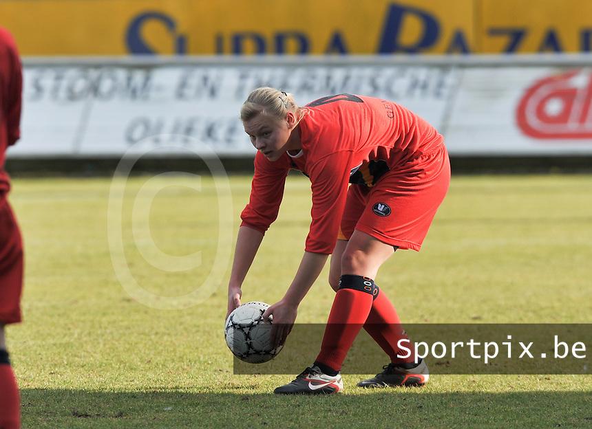 Oud Heverlee Leuven OHL : Ella Van Kerkhoven.Foto David Catry / vrouwenteam.be / loft6.be
