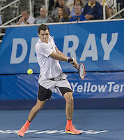 www.acepixs.com<br /> <br /> February 20 2017, Delray Beach<br /> <br /> Taylor Fritz at the 2017 Delray Beach Open an ATP 250 event on February 20 2017 in Delray Beach, Florida.<br /> <br /> By Line: Solar/ACE Pictures<br /> <br /> ACE Pictures Inc<br /> Tel: 6467670430<br /> Email: info@acepixs.com<br /> www.acepixs.com