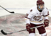Colin White (BC - 18) - The Boston College Eagles defeated the visiting UConn Huskies 2-1 on Tuesday, January 24, 2017, at Kelley Rink in Conte Forum in Chestnut Hill, Massachusetts.